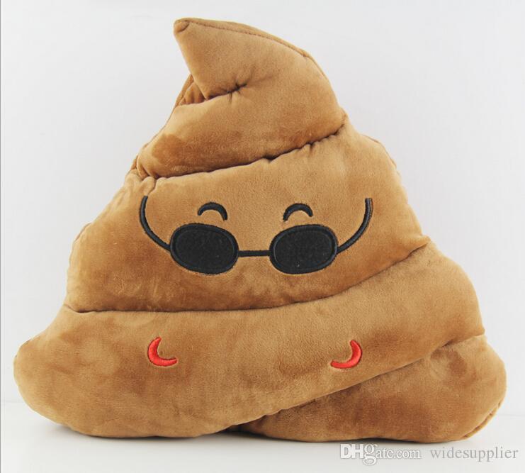 5 Estilos Almofadas Emoji Bonito Dos Desenhos Animados Almofadas Travesseiro Almofada Expressão Engraçado Merda e adorável carta almofada De Pelúcia Brinquedo de Pelúcia preço de fábrica