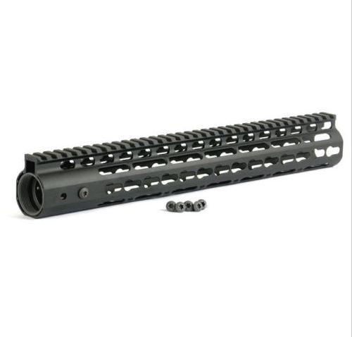 NSR 13.5 pollici Handguard Free Float One-piece Top Rail System KeyMod Alta qualità Lightest FDE AR-15