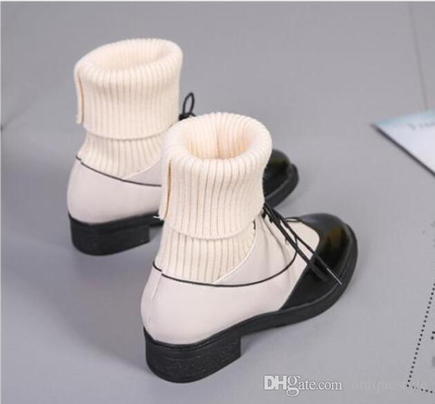Women winter boots Top Quality New Arrival Fashion Brand Classic Luxury Warm soft socks knit wool over knee Boots Sexy Ladies Boot