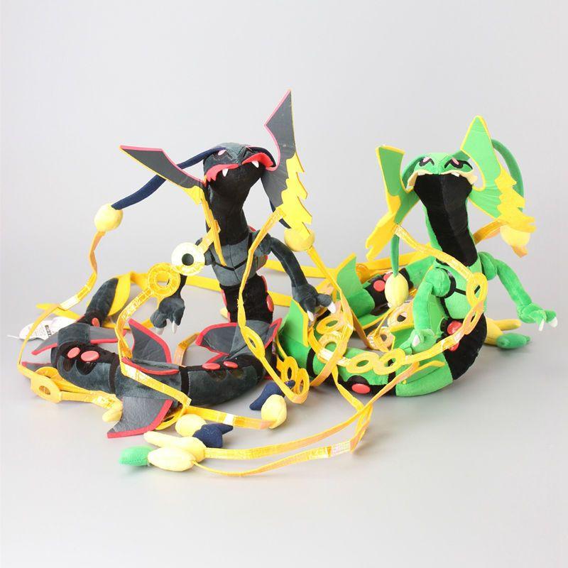 2019 xy mega rayquaza plush toys omega ruby rayquaza dragon soft