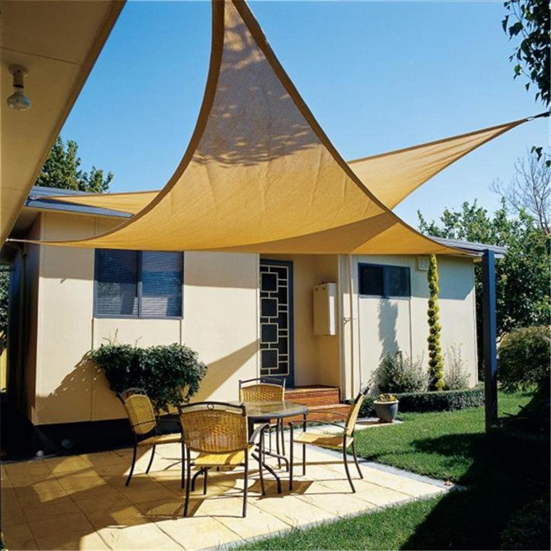 Best Garden Triangle Sun Shade Sail Outdoor Backyard Size 3.6m*3.6m*3.6m Sun  Sail Uv Block Sun Sail Shade Cover Under $48.36 | Dhgate.Com