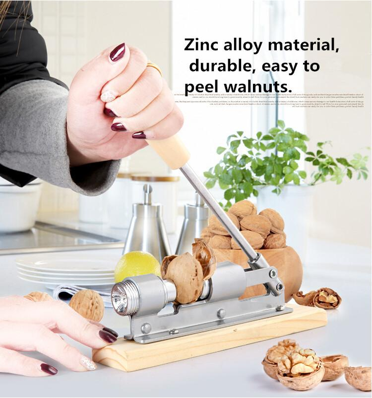 wholesale new high quality mechanical sheller walnut nutcracker nut cracker fast opener kitchen tools fruits and vegetables by yzxb under 19 09 dhgate