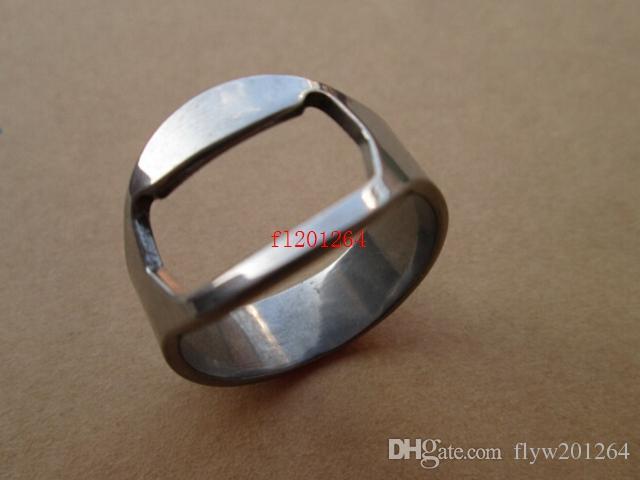 フェデックスDHL送料無料ステンレス鋼の指リングリングシェイプビール栓栓棒ツール20mm 22mm 24mmサイズR01,100ピース/ロット