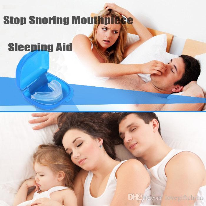 Food Grade Anti Snore Stopper Kit Anti-snoring Mouthpiece Stop Snoring Solution Device Anti Snore Mouth Tray Better Sleep Tool