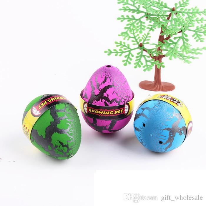 12p جيم / مربع كبير بيضة عيد الفصح البيض ديناصور ديناصور بيضة عيد الفصح متنوعة من الحيوانات يمكن أن يفقس البيض من الحيوانات اللعب الإبداعي 6.5 5CM *