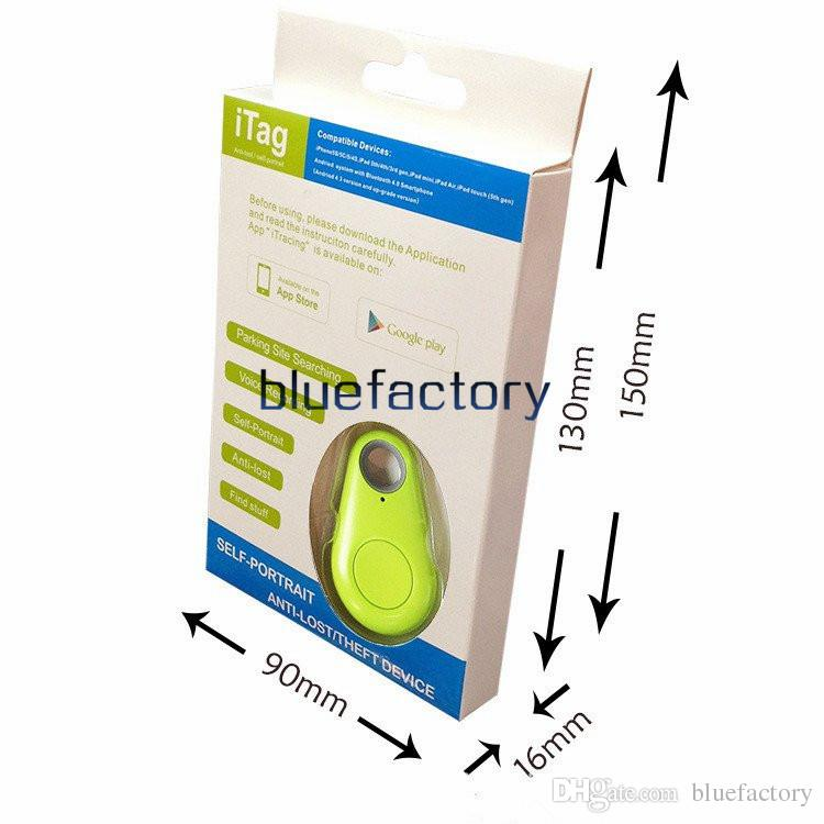 Bluetooth Anti-lost Device Smart Remote Self Portrait Wallet Personal Alarm Tracker Self-timer bluetooth 4.0 for iphone 6 5S Smartphone