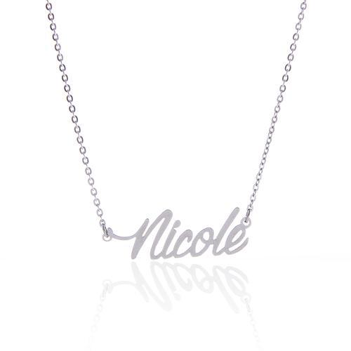 Kundenspezifische personalisierte Name Halskette Frauen Modeschmuck