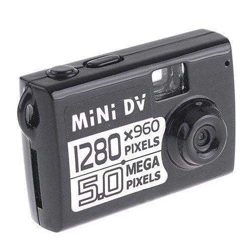 1280X960 smallest mini DV 5.0Mp HD mini camera camcorder digital video recorder DVR Motion Detection camera in retail box