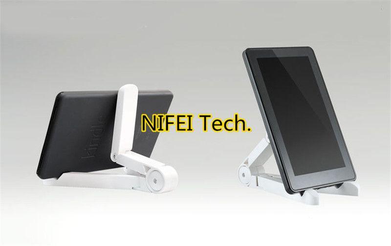Holder ajustable universal portable plegable soporte para el iPad Mini Aire Samsung Galaxy Tab Tablet PC Kindle con Box