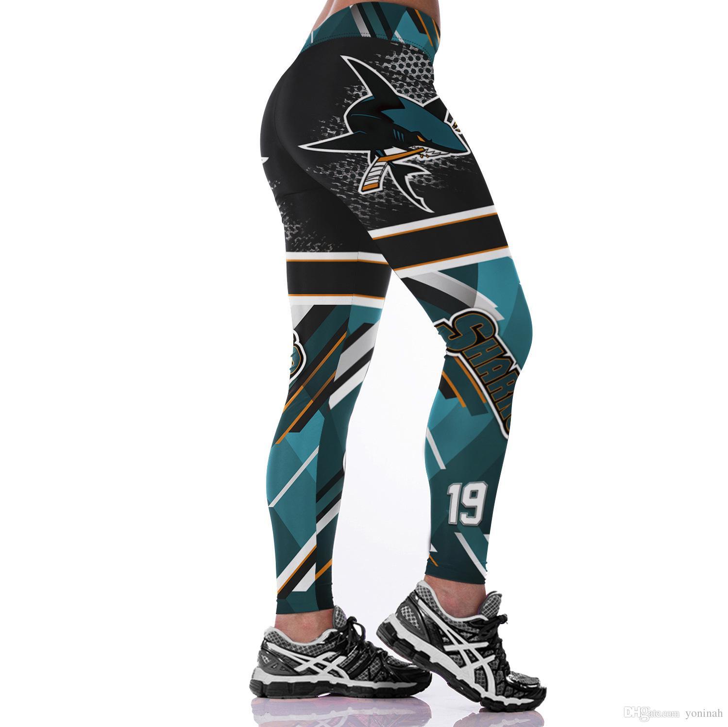 Venta al por mayor envío gratuito Classic America Cosplay impresión en 3D mujeres Leggings deportivos Sexy Fitness pantalones para mujer ropa de entrenamiento elástico