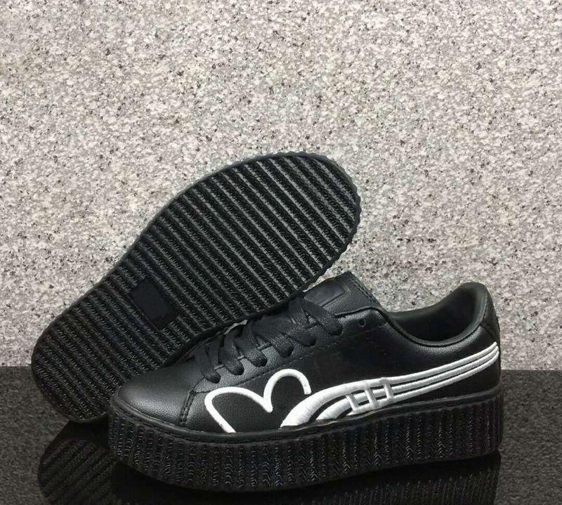 pretty nice 54118 b0ddc Donna Rihanna FENTY Creeper Clara Lionel Sneaker in vendita