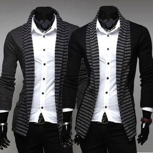 Wholesale-UK Style Fashion Formal Sweater Full Sleeves V-neck ...