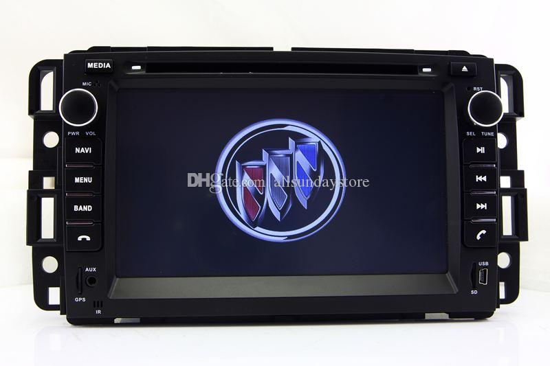 7 In Dash Car Dvd Player Gps Navigation For Buick Enclave With Navi Rhdhgate: Buick Navigation System With Audio At Gmaili.net