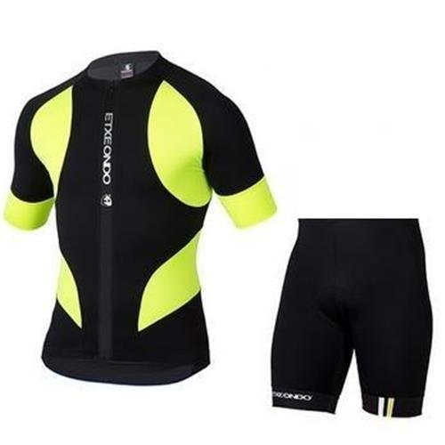 Prezzo all'ingrosso Etxeondo Cycling Jersey manica corta con bavaglino / nessuno pantaloni bavaglino Cycling Jersey Set Etxeondo Bicycle Wear S-4XL