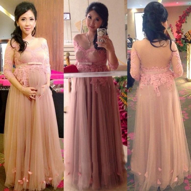 Soiree Gown Evening Dress Formal Dresses Pregnant Women Dresses ...