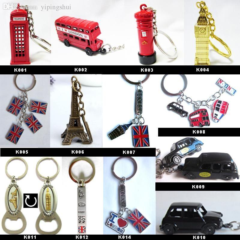 Wholesale Uk London Keyring Olympic Souvenirs 2015 New London