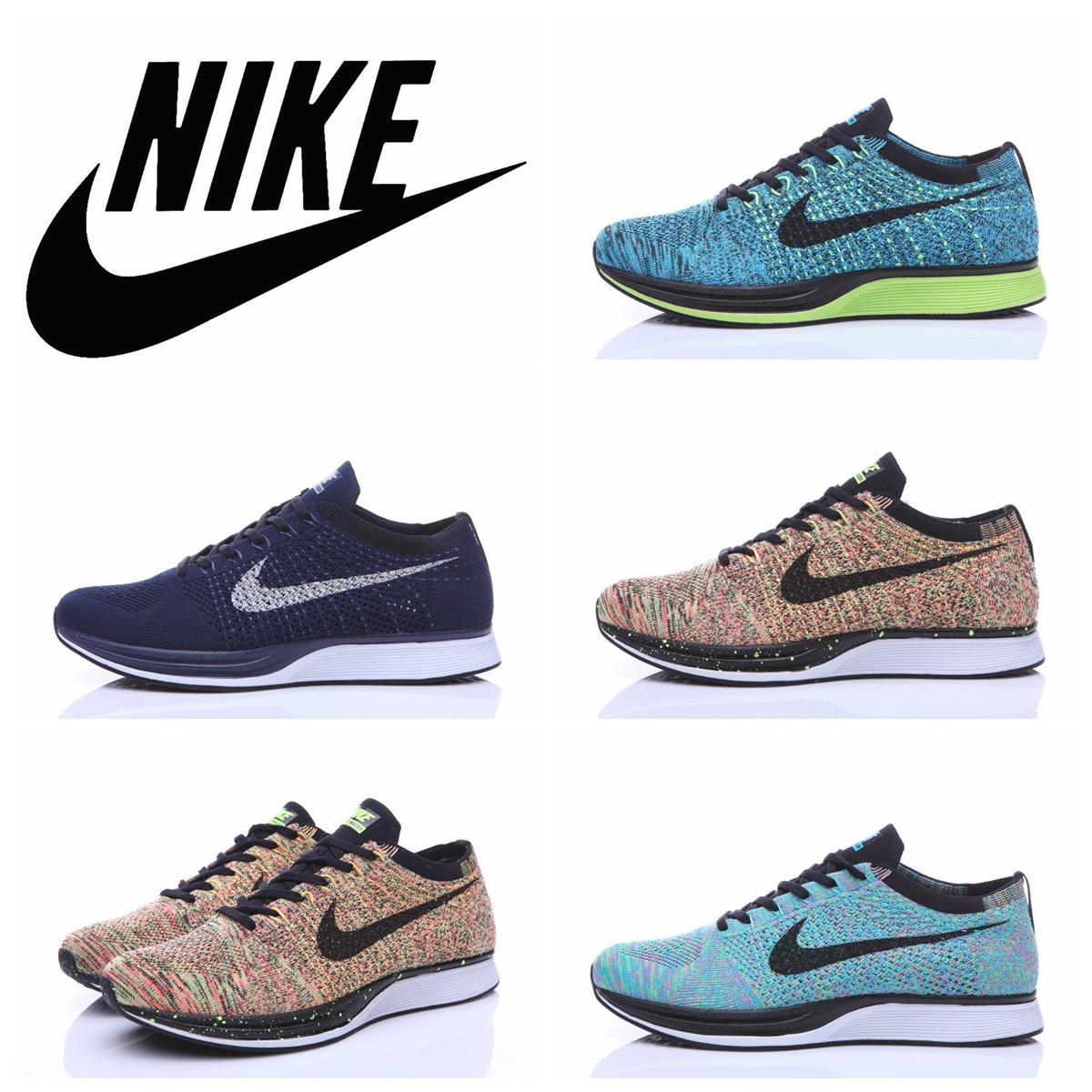 wholesale dealer ade65 10cd1 ... cheap 2016 nike flyknit racer black white kanye west oreo mensrunning  shoeswholesale nike racer blue lagoon