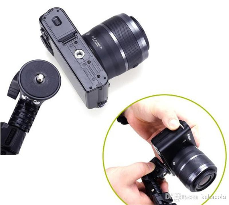 C188 Retractable Handheld Monopod with phone Clips holder for Pocket Camera and iPhone Samsung HTC...etc Mobile Phones