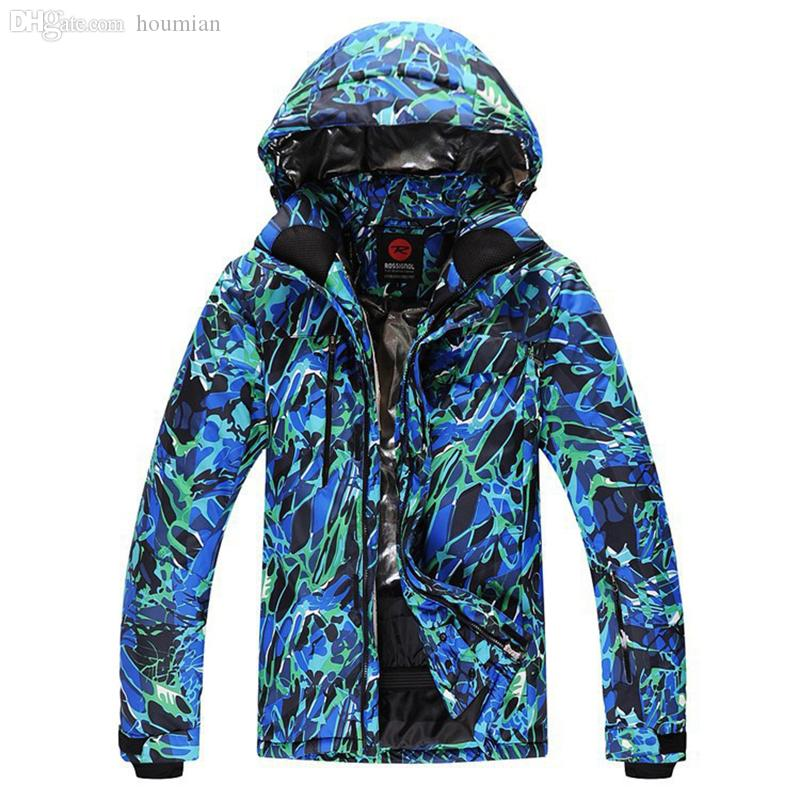cb8157b521d Wholesale-ROSSIGNOL Brand Ski Men Jacket Waterproof Windproof ...