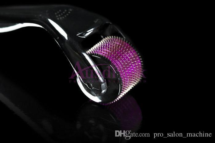 NOUVEAU!! 540 aiguilles derma micro aiguilles peau rouleau dermaroller rides d'enlèvement Cicatrices Anti vieillissement perte de cheveux traitement 0.5mm 1.0mm 2.0mm etc