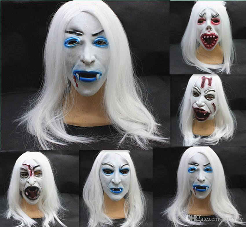 New Halloween Masks Latex Full Face Mask Party Masks Devil