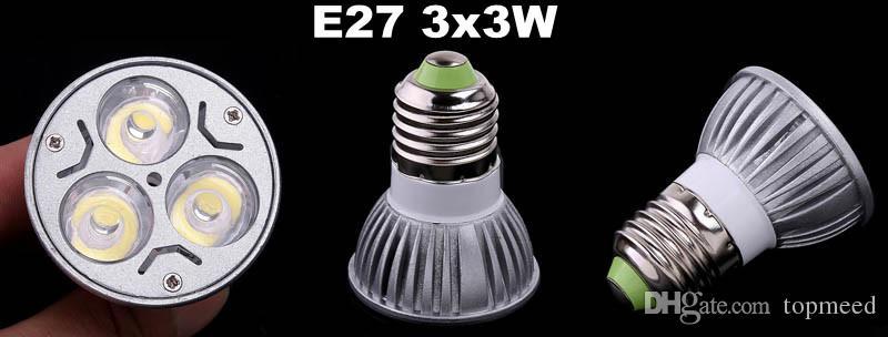 Dimmable CREE Led Lamp 9W 12W 15W MR16 12V GU10 E27 B22 E14 110-240V Led spot Light Spotlight led bulb downlight lighting