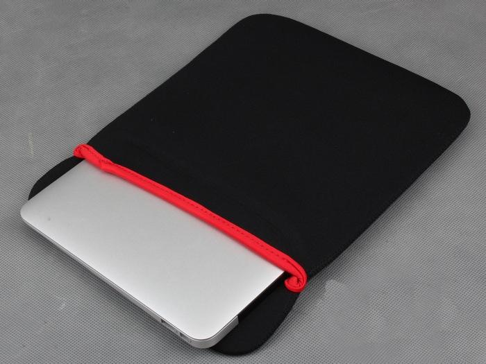 7-17 polegada bolsa de laptop bolsa protetora de neoprene suave sleeve case bag para 7-17