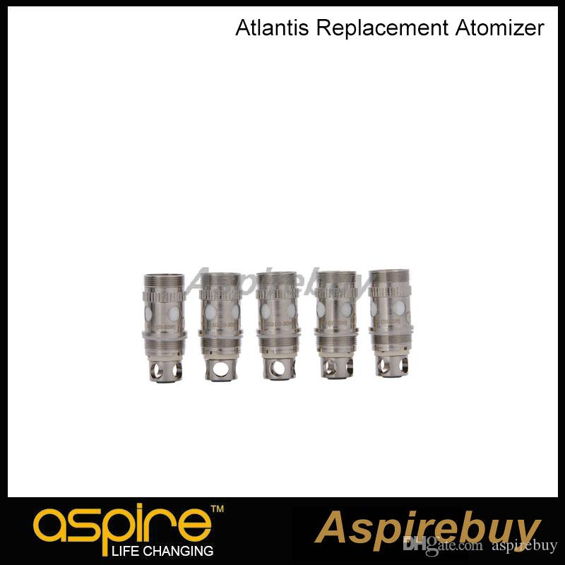 100% Original Aspire Atlantis Coil BVC Coil for Aspire Atlantis Tank Aspire Atlantis 2 Tank Replacement coils 0.3 0.5 1.0ohm