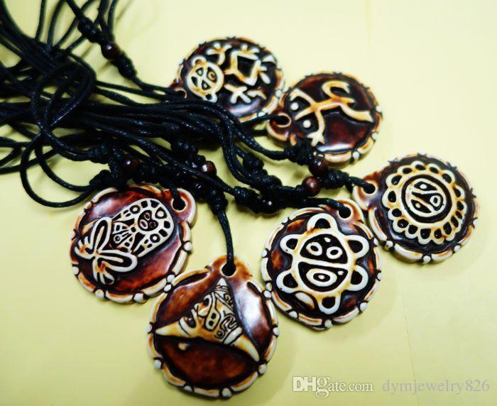 LIVRAISON GRATUITE imitent le plus récent collier de motard de tortues de soleil de grenouille de Taino Grenouille Tous les 6 styles choisissent