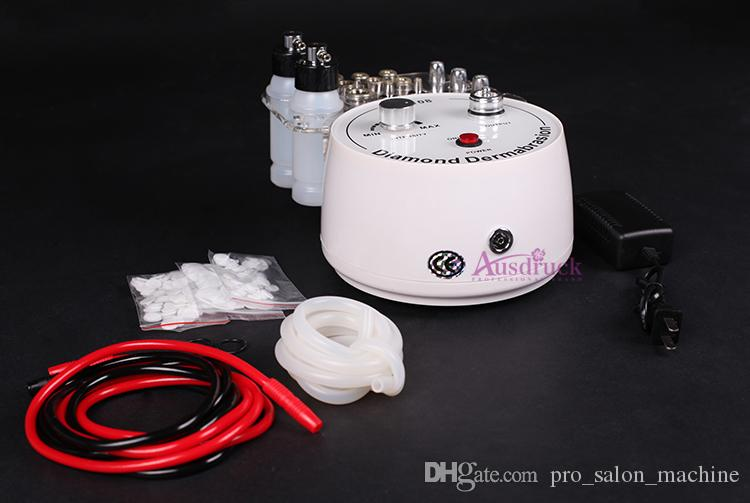 New MINI 3in1 DIAMOND MICRODERMABRASION Dermabrasion SKIN PEELING with Vacuum Spray machine NF108 FacialAnti Age PEEL skin care 110-240V CE