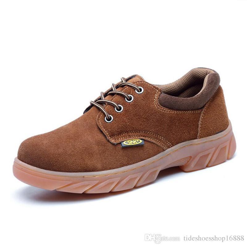 acheter populaire 4d68a 38957 2019 hommes bottes chaussures de sécurité au travail chaussures oxford pour  hommes bottes d hiver chaussures hommes en acier toe cap anti-smashing ...