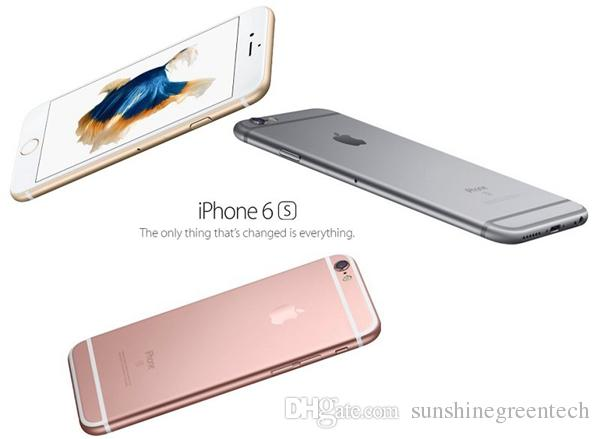 "Refurbished iPhone 6S Genuine Apple iPhone Cell Phones 16G 64G 128G IOS Rose Gold 4.7"" i6s Smartphone Wholesale China DHL free"