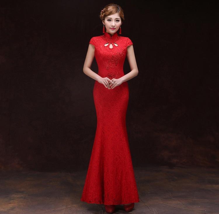 Tolle Cheongsam Prom Kleid Galerie - Brautkleider Ideen - cashingy.info
