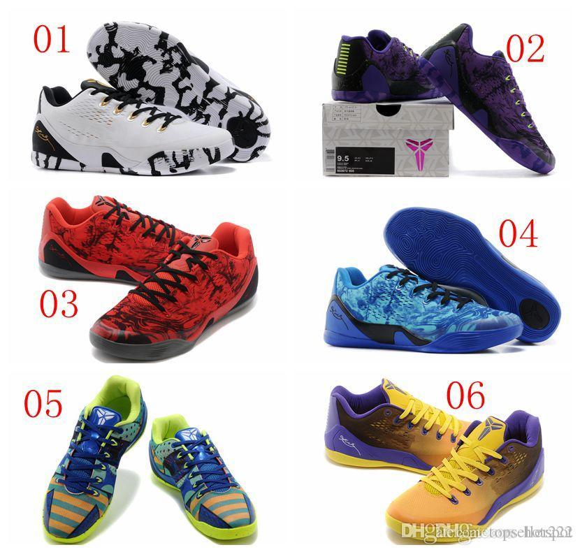 e4b620afe6b 2019 2015 New Fashion Kobe 9 Elite Low Cut Shoes Mens Sport Athletic  Basketball Shoes Trainers Running Shoes Size 8 12 Sport Shoes Running Shoes  From ...