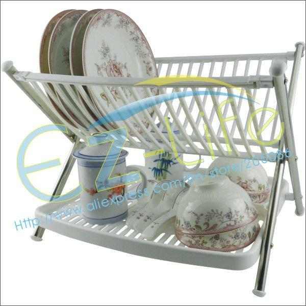 2018 Multi Function Folding Bowl Rack *kitchen Plate Rack*dish Tableware  Water Drain Holder Rack, Kitchen Space Saving From Sunday_joy, $14.58 |  Dhgate.Com