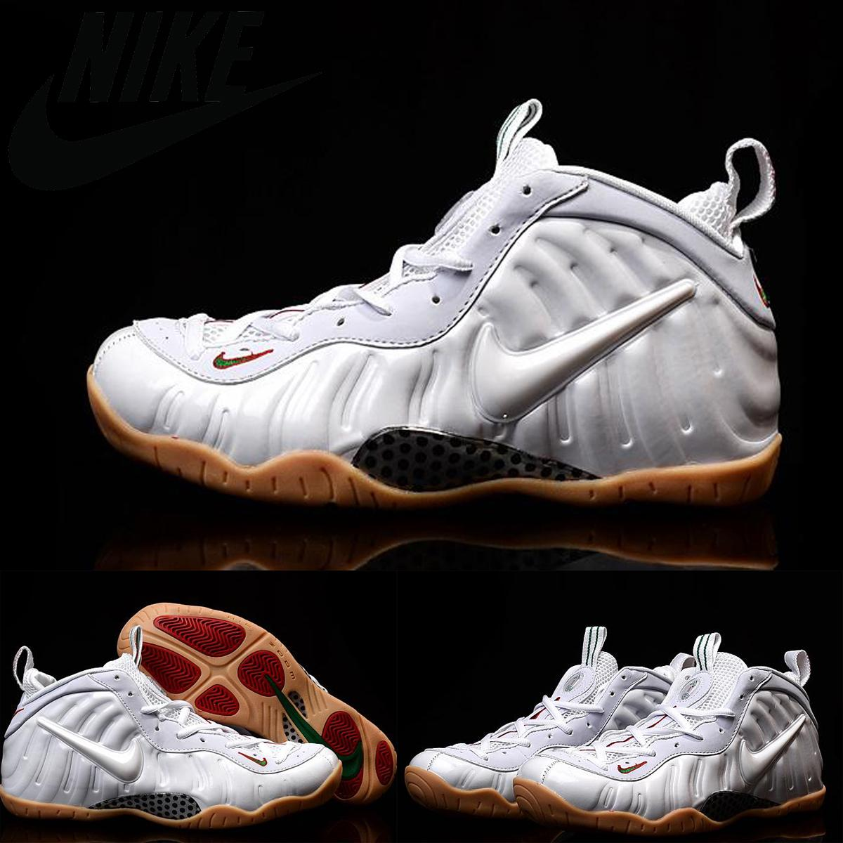 6ef6f76d63a Nike Foamposites Pro One Penny Hardaway Men Shoes White