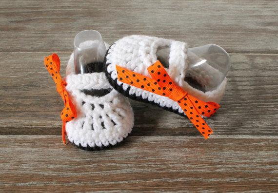 Ribbon Crochet Baby Shoes New infant shoes Hand Knitted Baby Shoes newborn crochet booties crochet shoes sole shoes