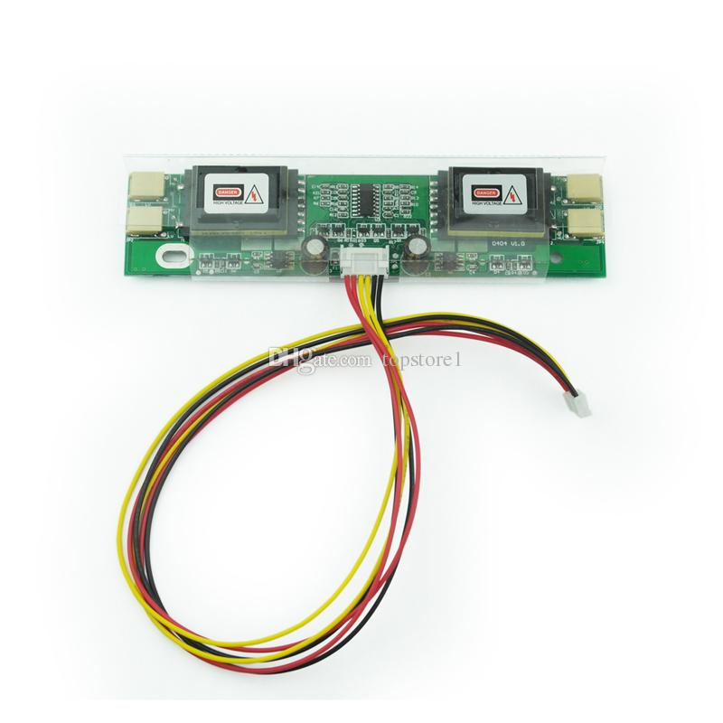 "4 Lamp CCFL Backlight Inverter Board for 12 ""-24 "" Inch Laptop Monitor TFT LCD Screen DIY Display Panel Module"
