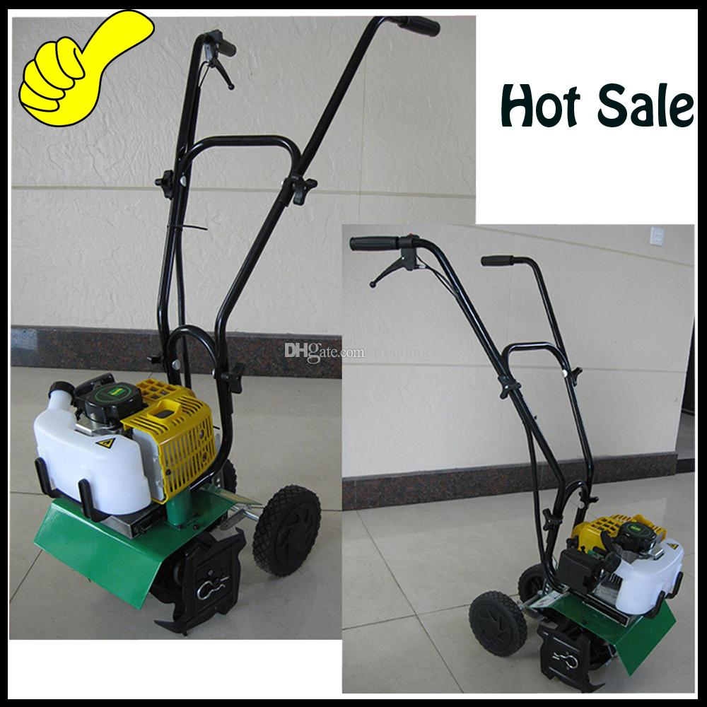 Online Cheap Gasoline Hand Push Walking Garden Rotary Tiller