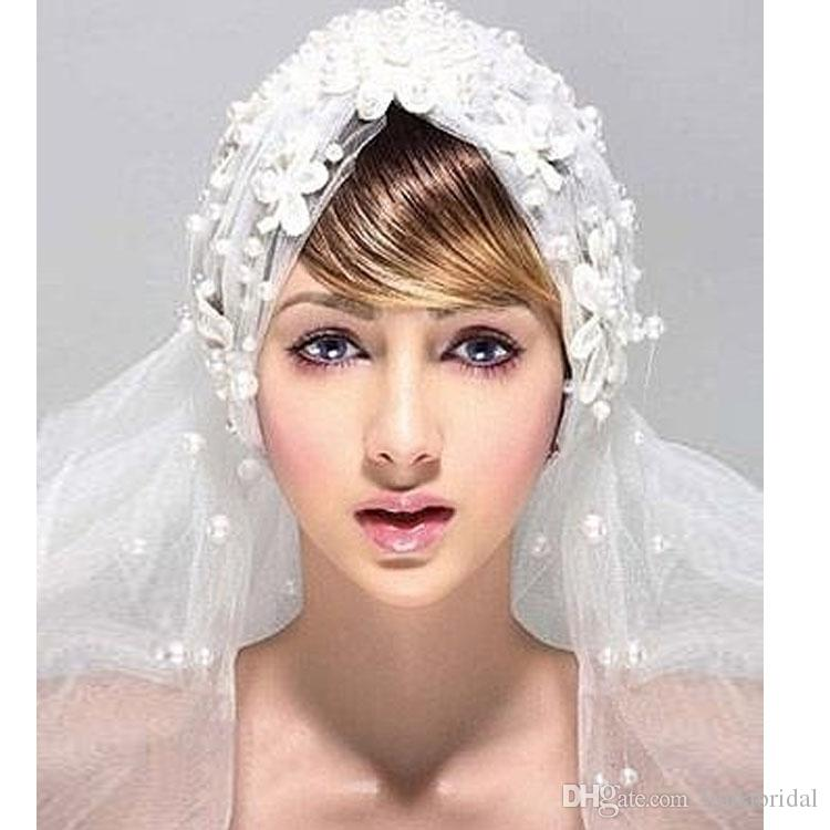 New Design Veils White Vintage Wedding Veil Birdcage Veils