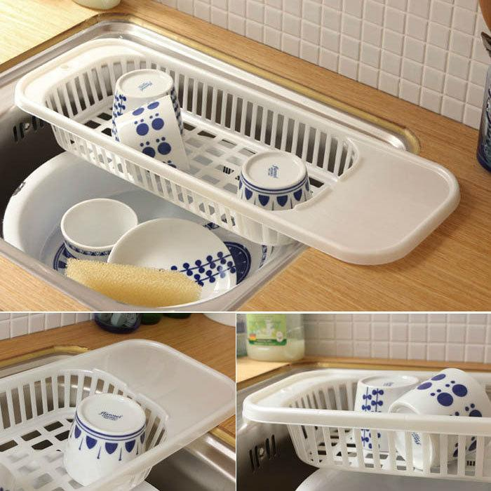 2018 Kitchen Sink Drain Rack Cutlery Shelving Treatment Of Fruits ...