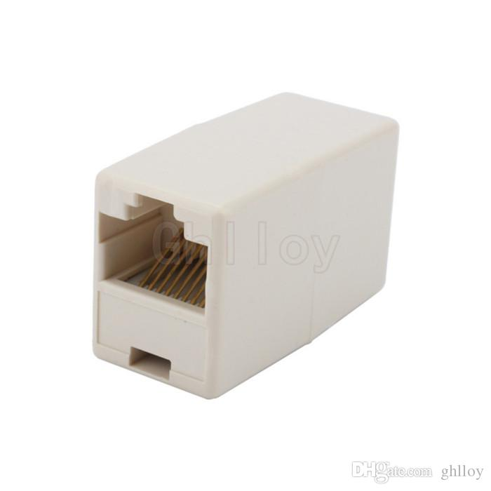 RJ45 CAT5 Coupler Plug Network LAN Cable Extender Joiner Connector Adapter