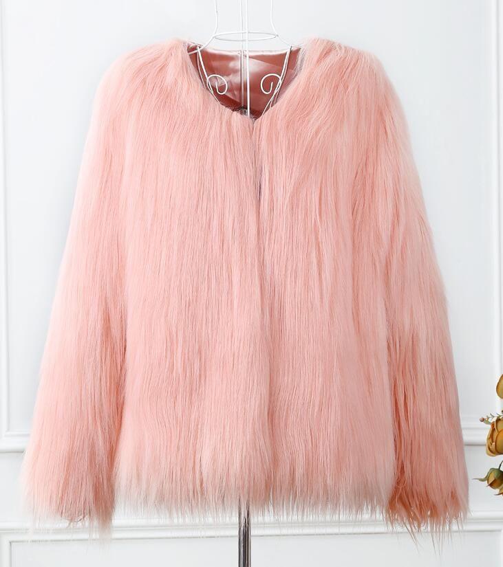 2019 Elegant And Fashion Coat Jacket Short Paragraph Long Sleeved 2017  Large Size Wash Wool Lamb Fur Fake Leather Fur Coat Women Clothing From  Caishen6689 539f397f52
