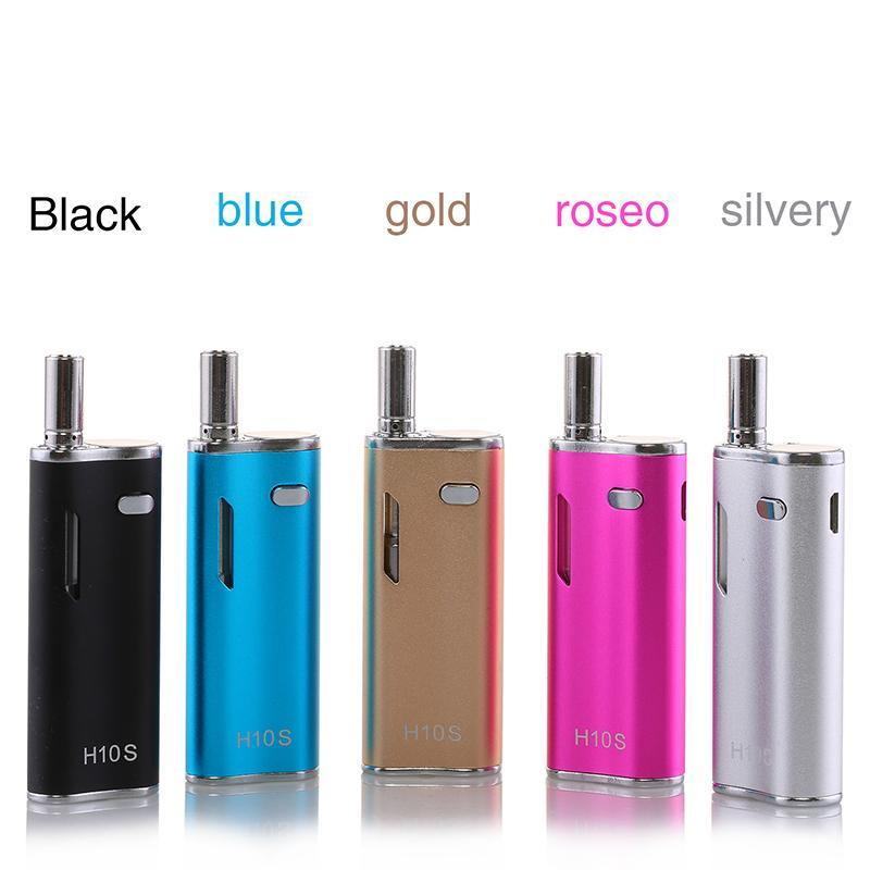 Original Hibron H10S vaporizer kit 650mah Preheating VV OLED Box Mods 10W with Thick Oil CE3 BUD Pyrex Cartridges Atomizer O pen Kit