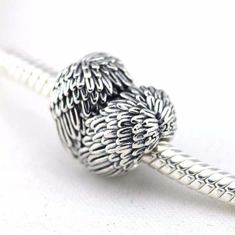 f6b0caada ... switzerland 2018 fits authentic pandora charms bracelet 100 925  sterling silver beads heart charm angel wing