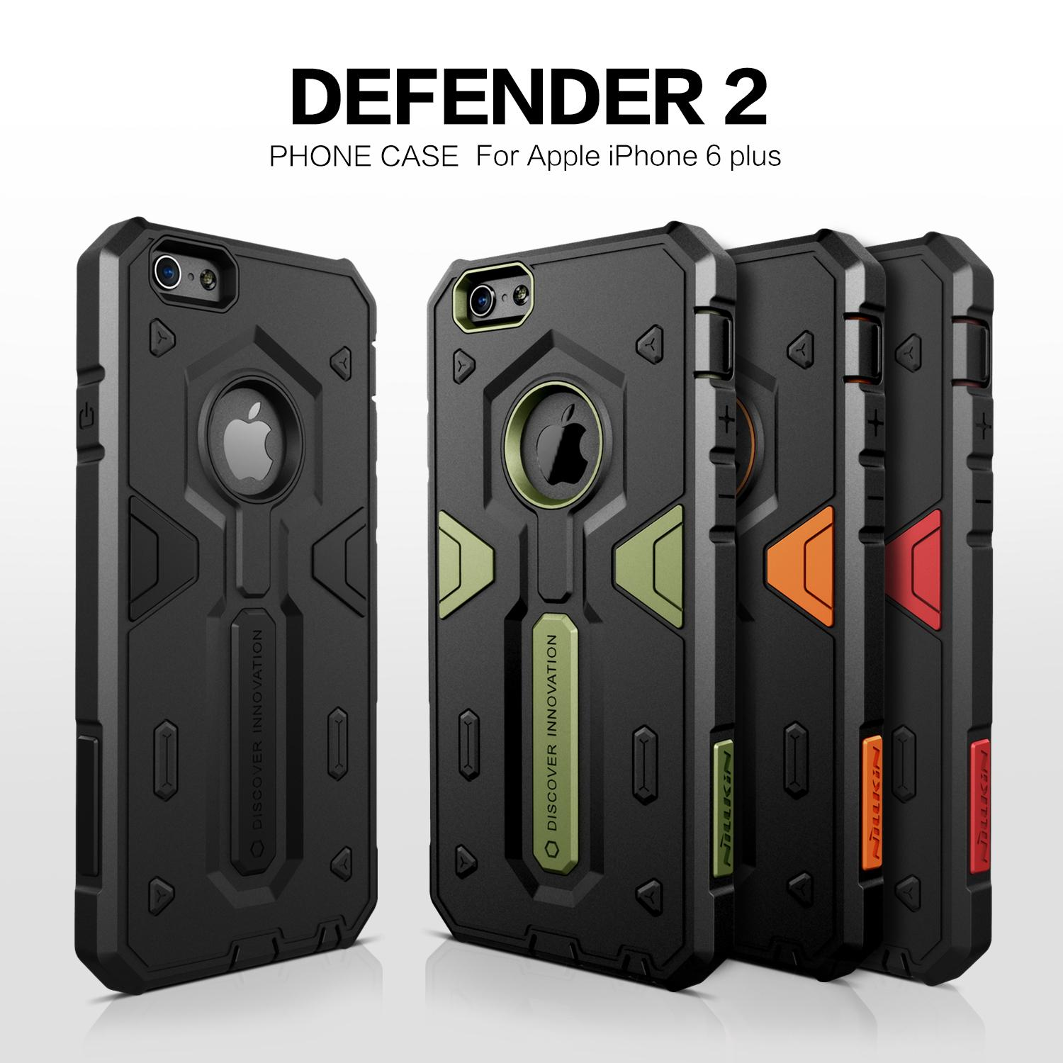 low priced e11b5 b30f9 For Apple Iphone 6 (4 .7 )Nillkin Defender Case Impact Hybrid Armor Hard  Protect Cover Strong For Iphone 6 Plus 5 .5 Phone Cases