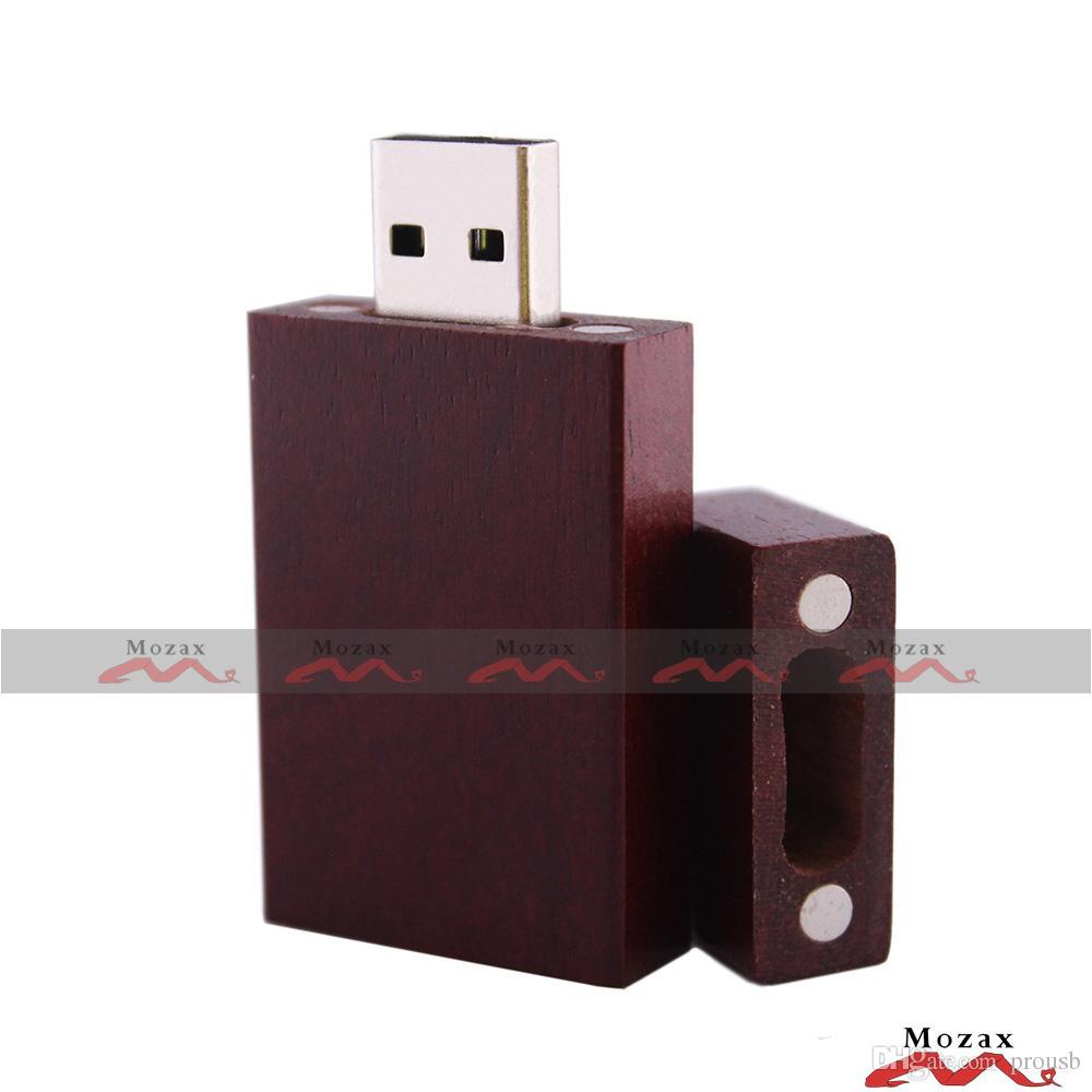 100шт 128 Мб/256 Мб/512 МБ/1 ГБ/2 ГБ/4 ГБ/8 ГБ/16 ГБ дерево USB 2.0 флэш-диск деревянные памяти флэш-стик хранилище данных не потерять