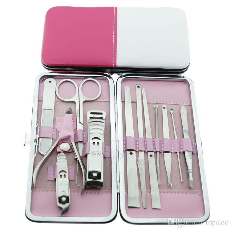 Manicure Pedicure Nail Clipper Kit Nail Care Set Pedicure Scissor ...