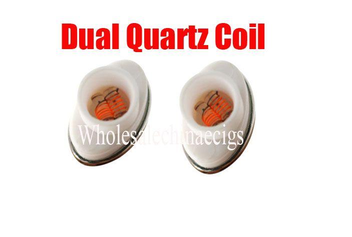 full ceramic Wax dual quartz atomizer coil replacement for elips micro gpen cloud pen ceramic electronic cigarette Factory Price