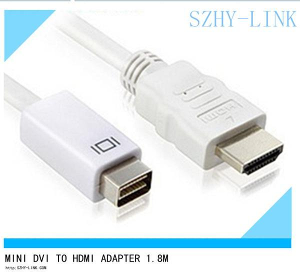 Mini DVI a HDMI cables adaptador cable adaptador cabo kabel para Apple Macbook JB10